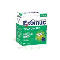 Exomuc 200 Mg, Granulés Pour Usage Oral En Sachet 15 Sachets/2g à Forbach