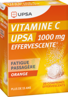 Vitamine C Upsa Effervescente 1000 Mg, Comprimé Effervescent à Forbach