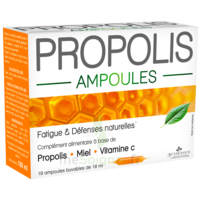 3 Chenes Propolis Solution Buvable 10 Ampoules/10ml à Forbach