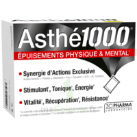 Asthe 1000 Poudre à Diluer épuisements Physique & Mental 10 Sachets à Forbach